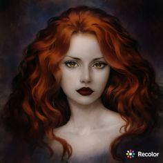 Fantasy Women, Fantasy Girl, Character Inspiration, Character Art, Redhead Pictures, Redhead Art, Digital Art Girl, Anime Art Girl, Hair Art