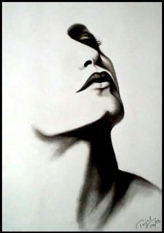 order handmade charcoal sketch from photo online Easy Charcoal Drawings, Dark Drawings, Charcoal Sketch, Cool Art Drawings, Pencil Art Drawings, Art Sketches, Pencil Portrait, Portrait Art, Charcoal Paint