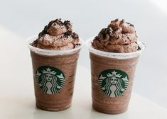 Cookies and cream frap, yum! 25 Secret Starbucks Drinks