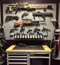 Airsoft hub is a social network that connects people with a passion for airsoft. Talk about the latest airsoft guns, tactical gear or simply share with others on this network Ammo Storage, Weapon Storage, Airsoft Storage, Hidden Storage, Garage Storage, Gun Safe Room, Gun Closet, Tactical Wall, Tactical Gear