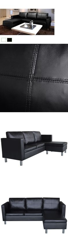 Traditional Leather Sectional made out of Bison leather