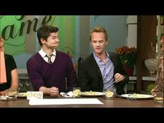 my favorite thing about this is when david takes neil's fork and eats off of his plate.