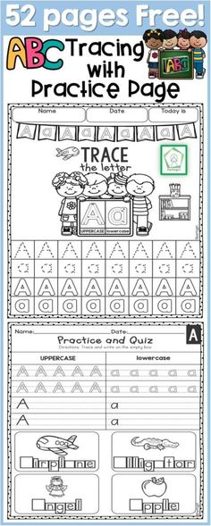 Help kids master their handwriting skills with these printable Alphabet Tracing Worksheets. Each letter has multiple opportunities to trace and practice. :: www.thriftyhomeschoolers.com