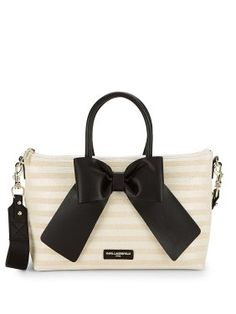 bb4480c1f345 BAGS · Kris Bow Satchel Leather Crossbody Bag