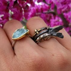 I hope you are having a lazy Saturday, I sure am! Just found this little stack I took during spring, which made me nostalgic about it! Beautiful Margoni ring found at bee from ring, moth from and bunny from . Greek Jewelry, Fine Jewelry, Jewellery, Lazy Saturday, Work Horses, Maria Black, Stacking Rings, Moth, Bee