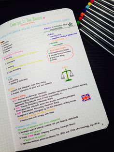 aspiringactuary: / 07.06.15 / Copying accounting lecture notes in to my new notebook! - Handwriting inspo!