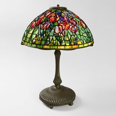 """Tulip"" Tiffany Lamp - colors"
