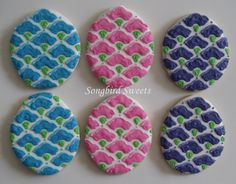Patterned Easter Egg Cookies (1 Dozen) by SongbirdSweets on Etsy https://www.etsy.com/listing/174998218/patterned-easter-egg-cookies-1-dozen
