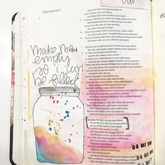 "What are you filling your life with? . Tonight while doing my quiet time @sidewalkprophets song, ""keep making me"" came on. This line stood out to me so much. . ""Make me empty so I can be filled."" . Wait though, why would I ask to be empty? Why would I ask to be broken? Why would I ask to be lonely? Oh, so you can be my filler. We fill ourselves with so many worldly things. Material things, relationships, comfort, and tangible things we can touch and feel in the ""now moments."" Can you…"
