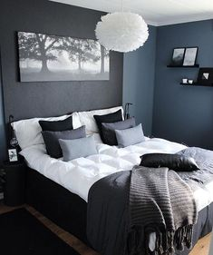 47 Brilliant Scandinavian Bedroom Design Ideas Schlafzimmer Raumtrenner More from my site SOUTH BY SEA Gray Bedroom, Home Decor Bedroom, Modern Bedroom, Master Bedroom, Contemporary Bedroom, Fancy Bedroom, Bedroom Rustic, Bedroom Alcove, Mens Room Decor