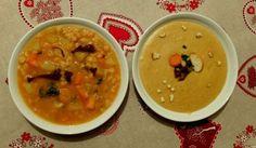 hrachova polevka s houbami Slovak Recipes, Portobello, Cheeseburger Chowder, Thai Red Curry, Vegan, Ethnic Recipes, Food, Meal, Essen
