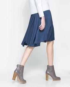 Rock und Schuhe von Zara <3