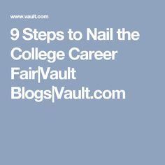 Beautiful 7 Great Career Fair Success Tips For College Students | Career Fairs |  Pinterest | Success, College And Students