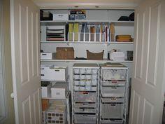 home office closet organizer. Genius Storage Ideas For Every Closet In Your Home | Narrow Closet, Shelves And Organizing Office Organizer F