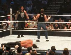 Dean and Roman are so cute!!! Seth... Let me guess... You got beaten up again, didn't ya??