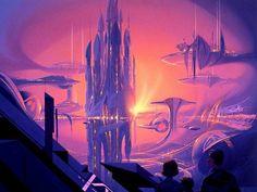 Cybercastle, Syd Mead