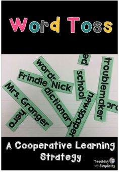 Word Toss a cooperat