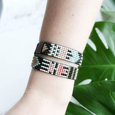 Check out this item in my Etsy shop https://www.etsy.com/listing/575022852/beaded-bracelet-ethnic-bracelet-african