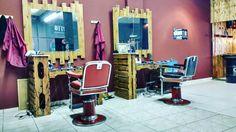Bancada de barbeiro Guetto13