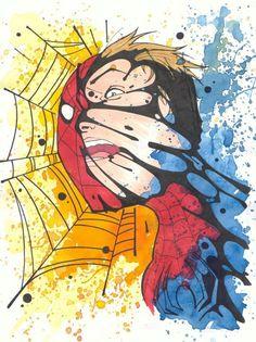 Peter/Spidey/Symbiote