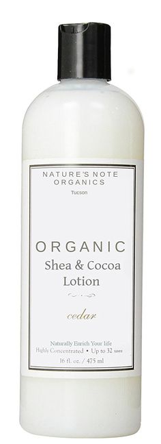 Anti-Aging Nature's Note Shea and Cocoa Butter Moisturizing Organic Lotion (Cedarwood Orange) * You can find out more details at the link of the image.