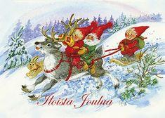 Anki :: Nro 1 Joulukortti Pukkisarja, kuvat Marjaliisa Pitkäranta - Joulu