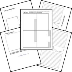 comic strip template pages for creative assignments for my comic book kid j u m p i n g j. Black Bedroom Furniture Sets. Home Design Ideas