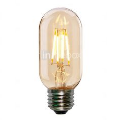 4W E27 T45 Edison Style Antique LED Filament Tubular Light Bulb(220-240V) - USD $4.99 ! HOT Product! A hot product at an incredible low price is now on sale! Come check it out along with other items like this. Get great discounts, earn Rewards and much more each time you shop with us!