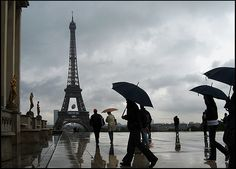 La Tour Eiffel- This is how it looked when I first saw it.