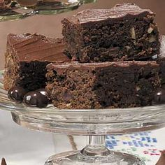 Taste of Home Brownie Recipes - Looking for brownie recipes? Find great tasting desserts with brownie recipes including chocolate brownie recipes, fudge brownie recipes, and more brownie recipes and ideas.
