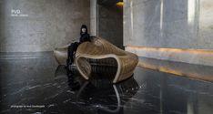 Sculpture Benches by Matthias Pliessnig