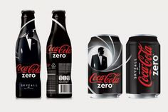 """Coca-Cola lança latas e garrafas do """"James Bond"""""""