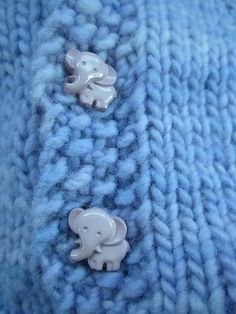 Elephant buttons!!