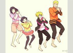 Hinata | Himawari | Boruto | Naruto
