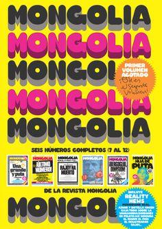 Segundo tomo encuadernado de @revistamongolia con los números 7 al 12. Revista Mongolia http://www.veniracuento.com/