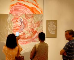 """Visitors photos : first day of the exhibition """"Guillaume Bottazzi – Wonderland"""""""