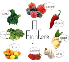 Check out these flu fighting foods!  Visit our website http://www.coloradoholisticmedicine.com/ or call (719) 219-9646 to schedule a consultation!
