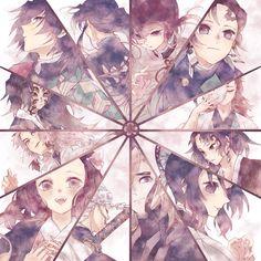 """がらす on Twitter: """"春、開花… """" Manga Anime, Anime Art, Demon Slayer, Slayer Anime, Shingeki No Bahamut, Anime Rules, Anime Group, Estilo Anime, Anime Kunst"""