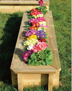 Search results for: x 0 deluxe wooden raised bed' veggie & flower gardens pic for fb Raised Flower Beds, Raised Garden Beds, Raised Beds, Raised Vegetable Gardens, Vegetable Bed, Wooden Garden, Patio Ideas, Yard Ideas, Beds Uk