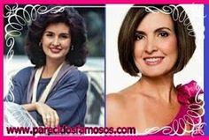 Parecidos con famosos: Fátima Bernardes presentadora  Brasileña antes y d...