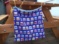 Campervan drawstring bag