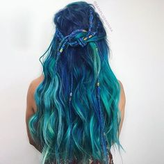 "119 Likes, 2 Comments - Pulp Riot Hair Color (@pulpriothair) on Instagram: ""@samploskonka created a Pulp Riot mermaid."""