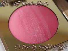 Kiko Soft Touch Blush 01 Pearly Bright Peach http://www.talasia.de/2015/06/12/beauty-tauschpckchen-mit-bianca/