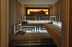 Finská sauna EXCLUSIVE v provedení kanadský cedr / topol - Sauny-vital.cz