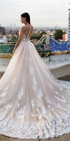 Milla Nova Bridal 2017 Wedding Dresses lina2 / http://www.deerpearlflowers.com/milla-nova-2017-wedding-dresses/4/
