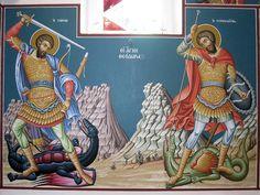 Byzantine Icons, Religious Art, Fresco, Saints, Painting, Fresh, Lds Art, Painting Art, Paintings