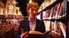"""""""Is this heaven?!"""" 'No, it's just Benedict Cumberbatch surrounded by lots and lots of books..."""" *sigh*"""