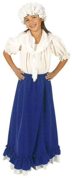Molly Pitcher Colonial Costume