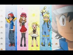 This is the eye catch of Ash and the gang during a title card reveal. I remastered the characters to their anime paint scheme! Ash and the Gang XY Title Card, Paint Schemes, Pokemon Go, I Movie, Ash, Princess Zelda, Anime, Painting