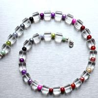 How to Make Crystal Rainbow Necklace – DIY Your Crystal Beaded Necklace